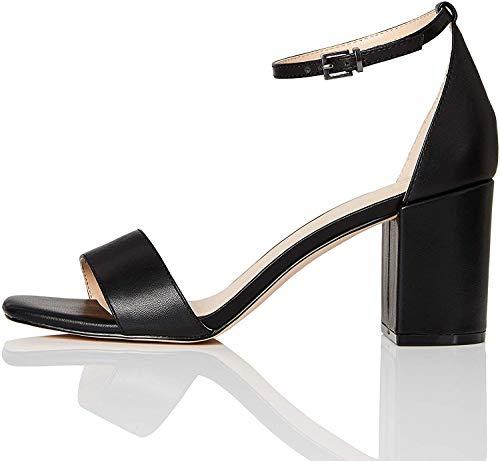 find. #_Gafur-1a – Zapatos con Tacon y Correa de Tobillo Mujer