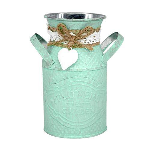 NA vaas ijzer vaas bloempot planter pastoral stijl handwerk huis ornamenten