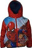 Marvel Jungen Spiderman Leichte Kapuzenjacke mit B
