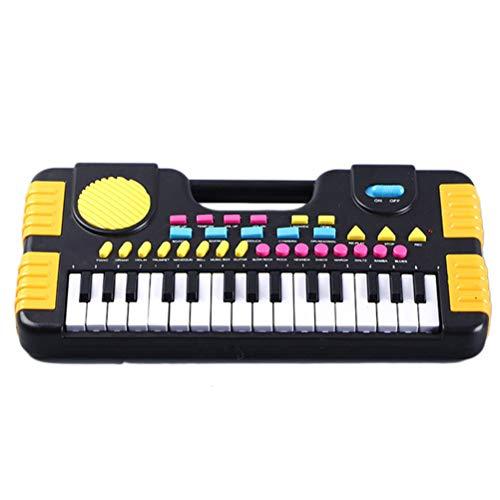 Bonbela Kinder Klavier 31 Tasten Mini elektronische Orgel Musical Piano Teaching-Tastatur für Kinder Kinder Geburtstag Keyboard