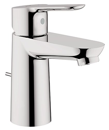 GROHE Start Edge | Badkraan - eenhands wastafelkraan, S-size | met keramische cartridge | chroom | 23342000