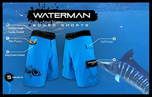 Tormenter Waterman 5 Pocket Boardshorts, Patriot 36