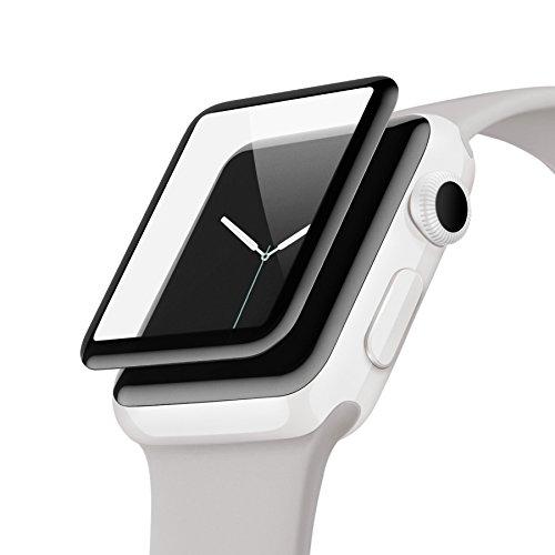 belkin ScreenForce® UltraCurveスクリーンプロテクター(Apple Watch シリーズ3/2、42mm) 国内正規品 F8W840QE-A
