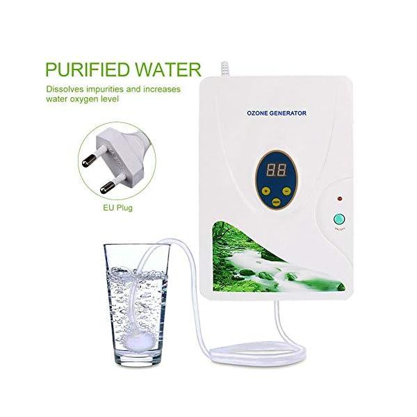 ZJchao 600mg//H digital-FE-generador de formaci/ón de desintoxicaci/ón de la m/áquina de para de agua dulce de hydroponics de frutas y verduras de la carne