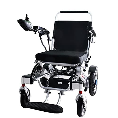 LFLLFLLFL All Terrain Mobility Scooter Folding Electric Wheelchair,Aviation Aluminum Alloy Frame...