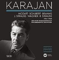 Mozart, Schubert, Brahms, J. Strauss, Wagner, R. Strauss: 1951-1960 by Herbert von Karajan (2014-05-13)