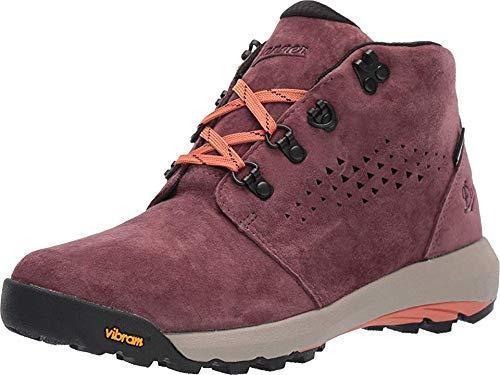 """Danner Women's 64502 Inquire Chukka 4"""" Waterproof Lifestyle Boot, Mauve/Salmon - 8.5 M"""