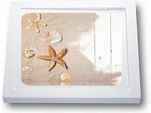 Anti Rutsch Aufkleber Dusche * Antirutschmatte Duschwanne * Muscheln (41 x 41 cm, Standard)