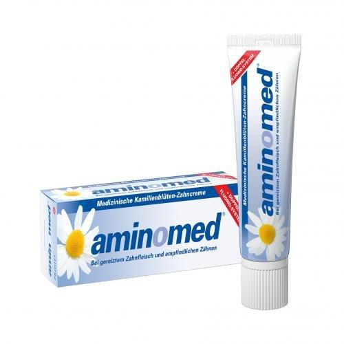 Amin O Med Fluorid Kamille Zahnpaste 75 ml für EUR 2,90 (100 ml= EUR 3,87)
