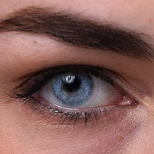 Blaue Kontaktlinsen | Himmelblau | natürlich farbige Kontaktlinsen | Farbige Kontaktlinsen ohne Stärke | MOOD-LENTILLES (französische Marke)