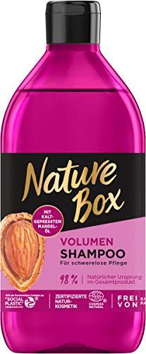 Nature Box Volumen-Shampoo Mandel-Öl, 385 ml