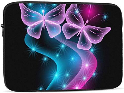 Butterfly Laptop Sleeve Bag - Evecase 15″ Neoprene Universal Sleeve Zipper Sleeve Cover Case for Notebook