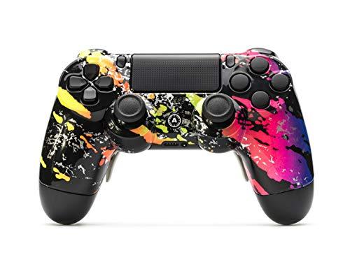 AimControllers Controlador PS4 Custom Wireless Controller, PlayStation 4 Gamepad Personalizado con 4...