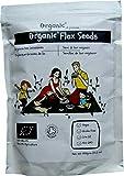 Semillas de lino/Flax Seeds/Flaxseed/Linseed, Marrón, Certificado 100%...