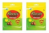 Reese's - Bolsa para huevos de mantequilla de maní (70 g, 2 paquetes)