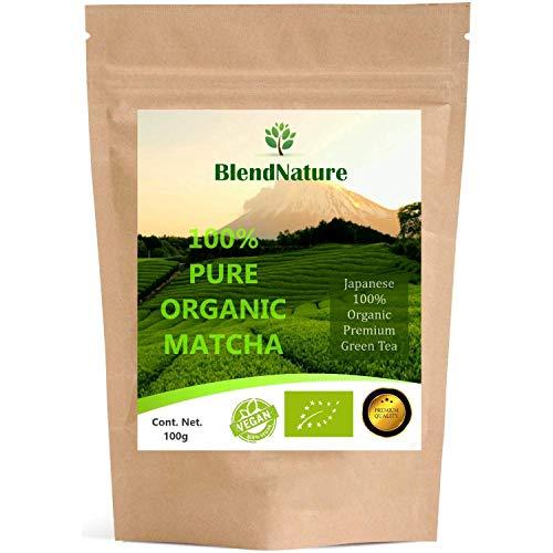 Té Verde Matcha Orgánico Japonés 100gram. Premium Bio - G