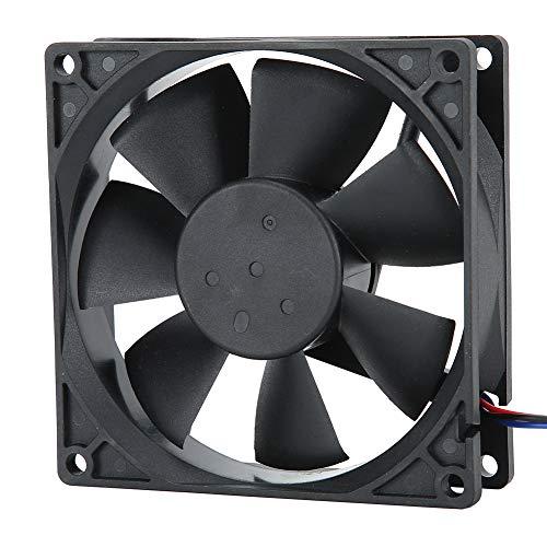 Ventilador de refrigeración para PC de 24 V, ventilador de refrigeración para ordenador de bajo ruido de 3800 RPM, ventilador de refrigeración para radiador de CPU de doble bola de alta precisión