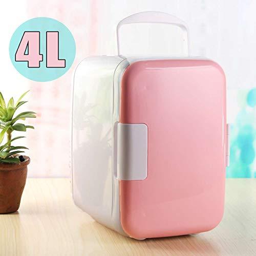 LIXUDECO Mini Nevera 40L refrigerador Auto-refrigerador 12V Portátil Mini refrigerador Compresor Coche refrigerador Frigorífico Camping (Color Name : White)