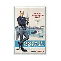 Qqwer ジェリー・セインフェルド23時間で殺す映画ポスターアート写真キャンバス絵画壁アートキャンバスに印刷家の装飾-50X70Cmx1Pcs-フレームなし