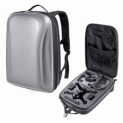 Okima Mochila para dron combinado DJI FPV, bolsa rígida, resistente al agua, bolsa de transporte, portátil, compatible con dron FPV y accesorios DJI