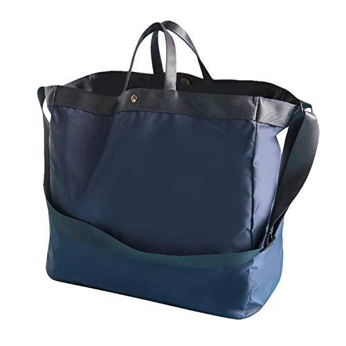 Desconocido JIER Bolsos de Mujer,Bolso Bandolera Mujer Bolso Lona de Hombro Bolso Tote Bolso Shopper Bolso de Mano para Multifuncional 30 * 31 * 11CM (Azul)