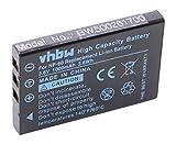vhbw Batería Recargable Compatible con Pentax Optio 330, 330RS, 430, 430RS, 450, 550 cámara, cámara Digital, DSLR (1000mAh, 3,6V, Li-Ion)