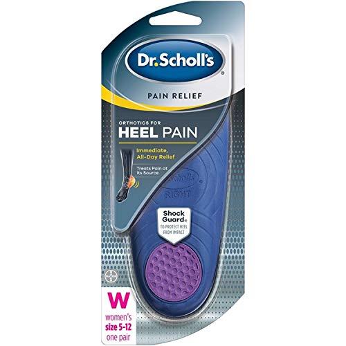 Dr. Scholl's Heel Pain Relief Orthotics Women's 5-12 1 Pair (Pack of 2)