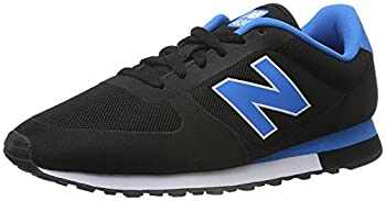 New Balance U 430 Unisex Other Fabric Trainers  6.5 US Black Blue