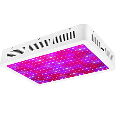 MORSEN Grow Light, 2400W Full Spectrum LED Grow Lights with 2 Dimmer On Off Switch for Greenhouse Hydroponic Indoor Plants(10W ledsx240pcs)