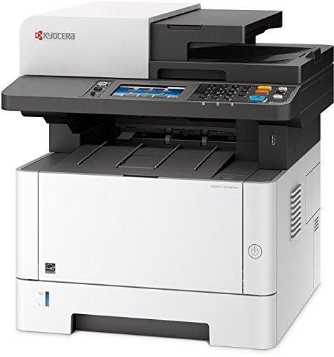 Kyocera Klimaschutz-System Ecosys M2640idw WLAN Multifunktionsdrucker, Multifunktionssystem, Drucken, Kopieren, Scannen, Faxen, mit Mobile-Print-Unterstützung für Smartphone und Tablet, schwarz-weiß
