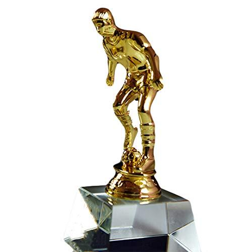 Trofeo de fútbol con Letras Personalizadas, Trofeo de Metal, Premio de Bota...