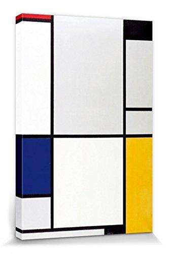 1art1 Piet Mondrian - Tableau I, 1921 Cuadro, Lienzo Montado sobre Bastidor (120 x 80cm)