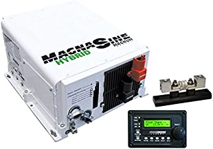 Go Power! GP-MSH3012M-PKG 3000 Watt Pure Sine Wave Hybrid Magnum Inverter with Remote Charger and Fuse Block Package