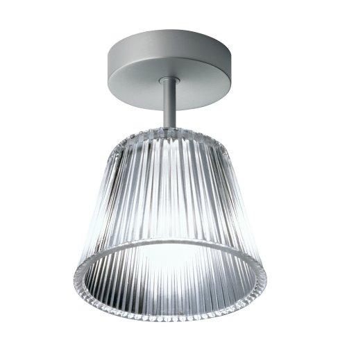 Romeo Baby Deckenleuchte, Silber/Glas, Höhe 15 cm | Kronleuchter und Deckenleuchte FLOS Design von Philippe Starck