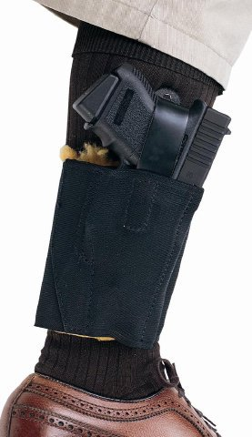 Aker 157 Comfort-Flex II Ankle Holster - Right Hand Draw - 157BPRU-LCP - Ruger LCP