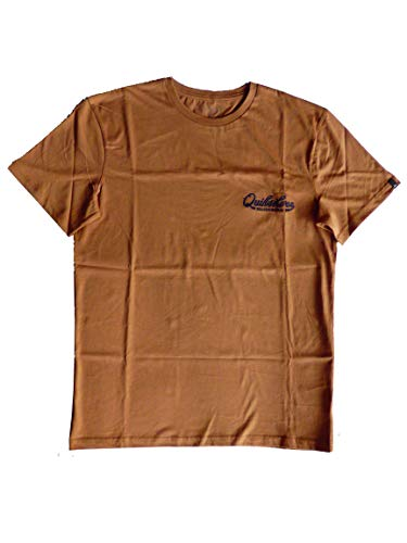 Quiksilver Finest of The First tee - Camiseta de Hombre - Caribou - Talla M