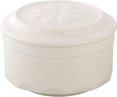 東彼セラミックス 保存容器 ホワイト 直径10.4x高さ6.9cm ニューねぎっ庫2 S-17N(W)