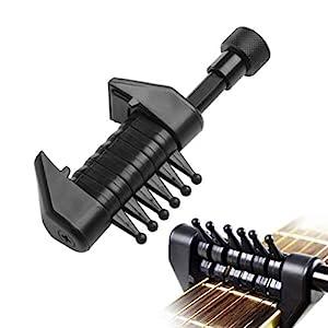 Generic Guitar Capo Multifunctional Guitar Tuner Capo 7