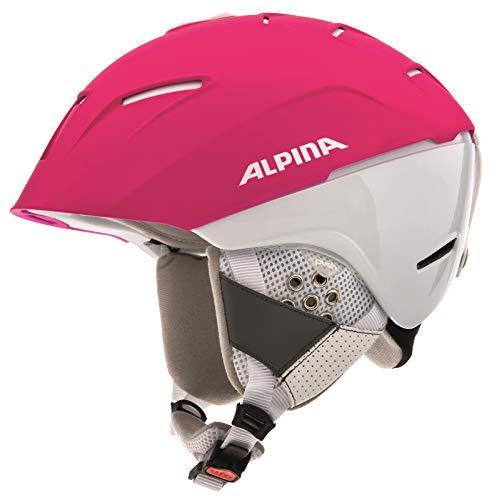 Alpina Sports Unisex– Erwachsene CHEOS SL Skihelme, Purple-White, 58-61