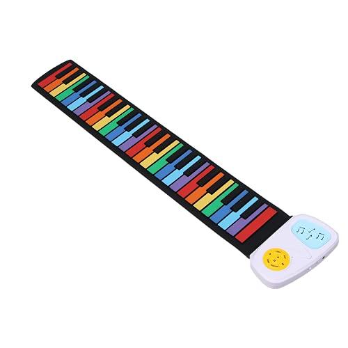 AHNUNVA Handgerolltes Klavier mit 49...