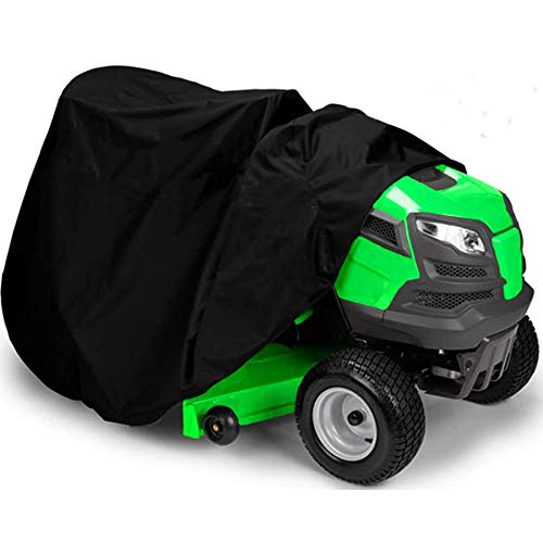 Indeedbuy Riding Lawn Mower Cover, Waterproof Tractor Cover Fits Decks up to 54',Heavy Duty 420D...