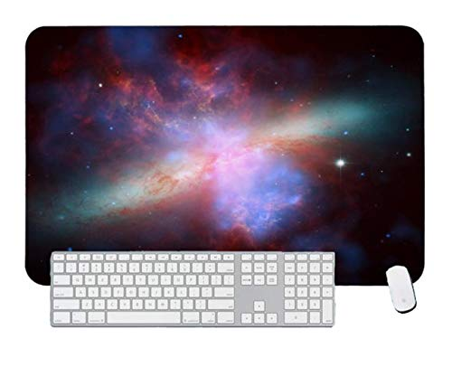 Gaming Mouse PadNASA - Imagen infrarroja Visible de Rayos X de M82Escritorio y computadora portatil 1 Paquete 700x400x3mm / 27.5x15.7x1.1 in