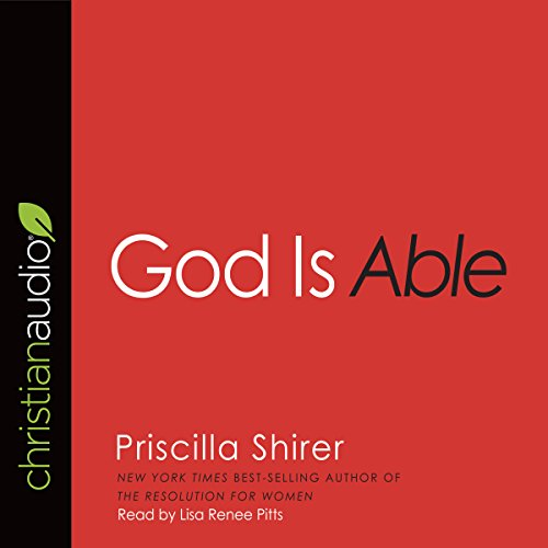 God Is Able audiobook cover art