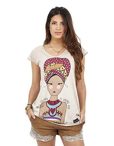 ANABEL LEE Camiseta Étnica S.