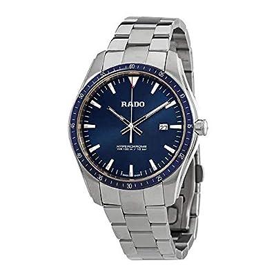 Rado HyperChrome Men's Steel and Ceramic Watch with Blue Dial R32502203