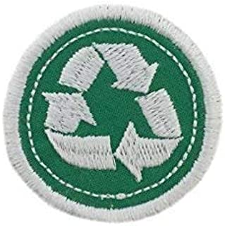 """Merit Badge Patch- 2"""" Iron On Recycling Patch"""