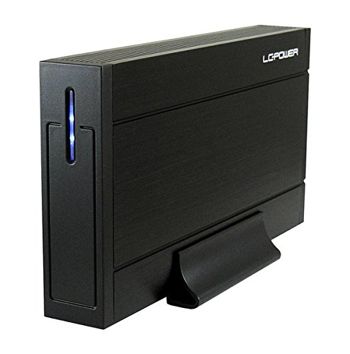 """LC-Power LC-35U3-Sirius Case Esterno per HDD 3,5"""", Nero"""