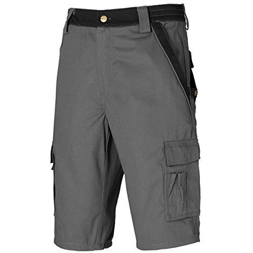 Dickies Industry300 Kurze Hose Shorts Service Industrie, Größe:62, Farbe:grau/schwarz
