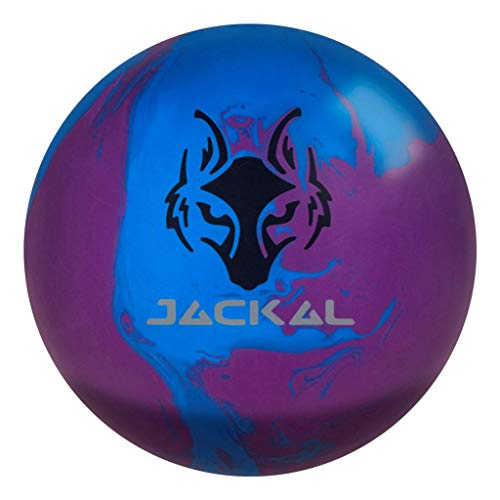 Motiv Alpha Jackal Bowling Ball 15lbs, Blue/Purple