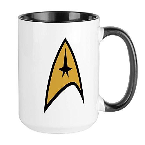 NA Star Trek Taza de café Grande, Grande, 11 oz. Taza de...